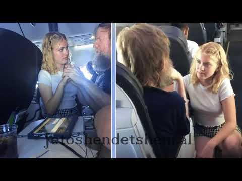 15 vjeçarja ulet pranë një burri në avion, pak sekonda më vonë ndodh e pabesueshmja