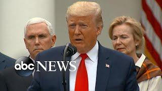 Trump declares state of emergency over coronavirus, Pelosi announces aid package | Nightline