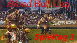 Blood Bull Cup Spieltag 1 - Blood Bowl 2 Turnier