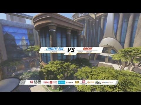 APAC 결승루나틱하이 VS Rouge(Tviq팀)  1경기 눔바니 Lunatic-hai VS Rouge Match_1 Numbani