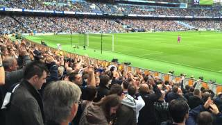 Oh When The Spurs - Tottenham away fans at Man City