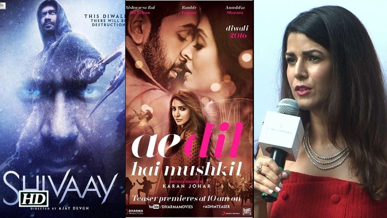 Clash -'ADHM' and 'SHIVAAY'- Nimrat Kaur TAKE