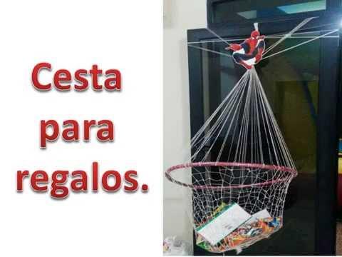 Una cesta para regalos del hombre ara a youtube - Regalos de muebles gratis ...