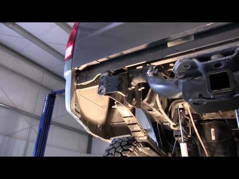 TITAN Fuel Tanks Spare Tire Auxiliary Fuel System Installation Video (STAFS Model 4030203)