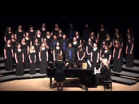 Davidsen Middle School Dragon Fire Choir MPA 2016
