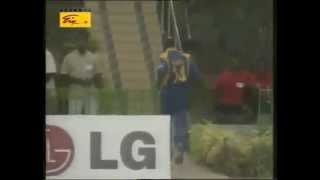 smallest six in the history of cricket hit by pakistan batsman