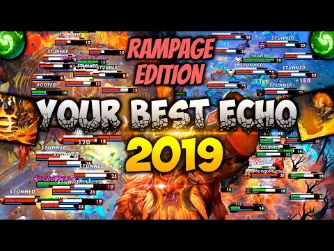 Dota 2 Earthshaker Moments - Rampage Edition! [BEST OF 2019]