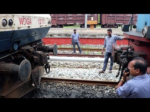WDG4 Coupling | Yeshwanthpur Karwar Express | Bankers attached | First attempt Fail | Mangalore