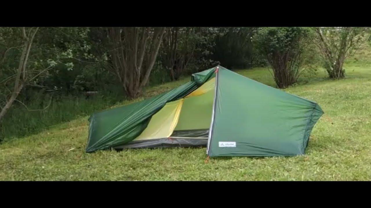 & Lizard GUL 1 Person Set up English | VAUDE - YouTube