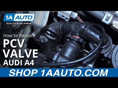 How to Replace PCV Valve 04-09 Audi A4