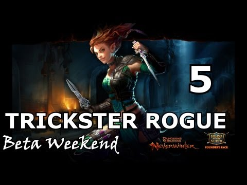 Neverwinter - Trickster Rogue Beta Gameplay/Analysis 5 (Stealth Mechanic, Combos, Skirmishes)