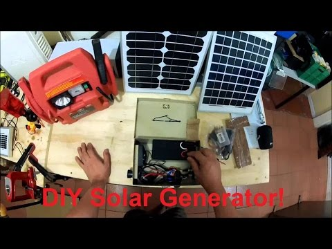 How to: Build a Cheap Portable Solar Generator!