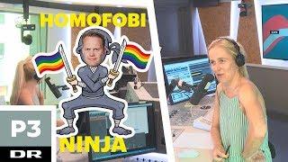 Jeppe Kofod vil bekæmpe homofobi - med en klaphat?