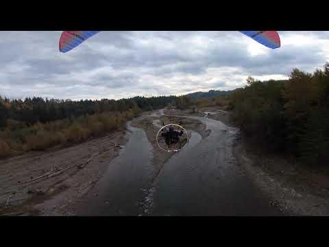 Paramotor Playground-Washington State River Flying