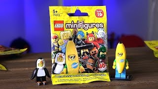 Раскрываем LEGO Minifigures 16 Серия!