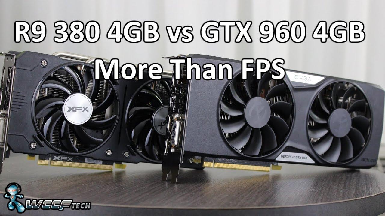 AMD Radeon R9 380 vs Nvidia GeForce GTX 960 - Finding The 1080p Bang