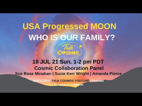 TALK COSMOS 18 Jul 21: Cosmic Collaboration - Who Is Our Family?