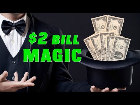 $2 Bills Are Great For Magic Tricks. Watch This Ellusionist Work