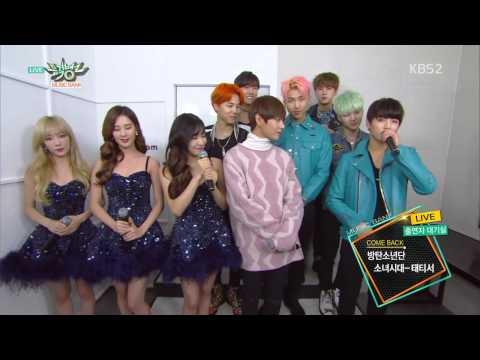 BTS comeback interview music bank