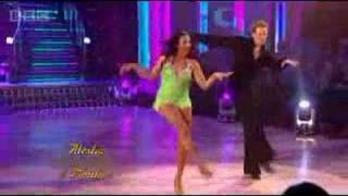 Alesha Dixon & Matthew Cutler Dance the Jive - Strictly Come Dancing 2007 - BBC One