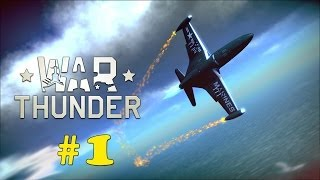 [PS4] WAR THUNDER - PART 1 - GAMEPLAY WALKTHROUGH LET'S PLAY! -  BASIC TRAINING TUTORIAL! [HD 1080P]