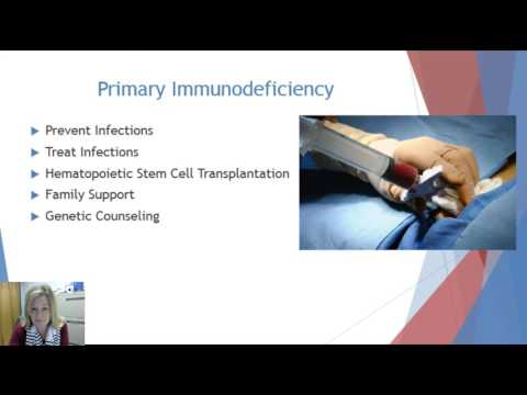 Treatment for Primary Immunodeficiency