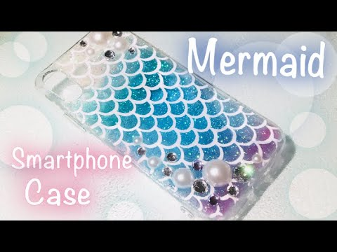 【UVレジン】キラキラ✨マーメイドスマホケース【UV resin】Mermaid 🧜♀️ smartphone case