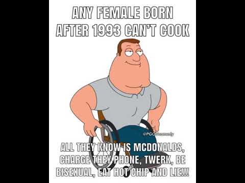 Everybody Knows Girls Born After 1993 Can T Cook Youtube Download video view source & comments. everybody knows girls born after 1993