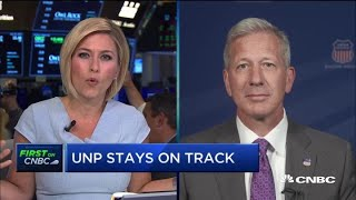 Union Pacific CEO: US economy growing at 'tepid' pace