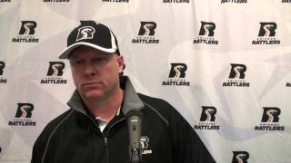 8-4-13, Arizona Rattlers Vs. San Jose Sabercats, Post Game Press Conference