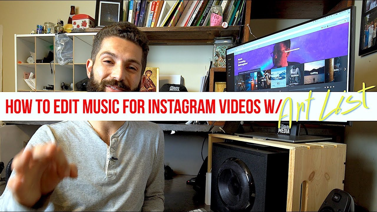 how to add music to instagram video from youtube