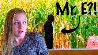 We Saw Mr. E At The Corn Maze!!