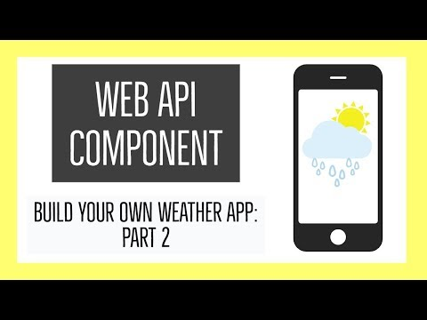 How To Use The Thunkable Web API: Weather App - Part 2