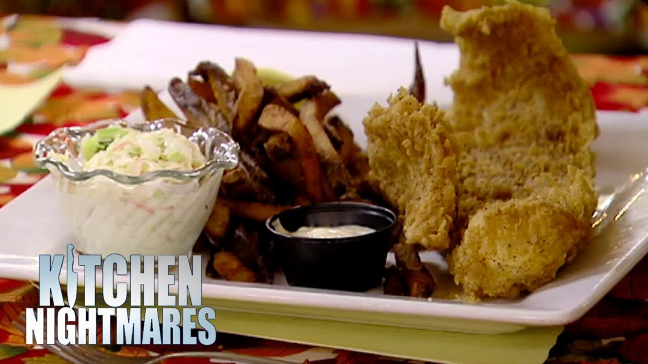 Gordon Ramsay Appalled By 'English Style Fish & Chips"