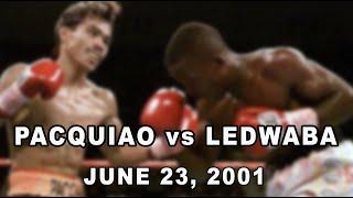 PACQUIAO vs LEDWABA   June 23, 2001