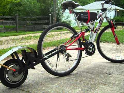electric bike homemade youtube. Black Bedroom Furniture Sets. Home Design Ideas