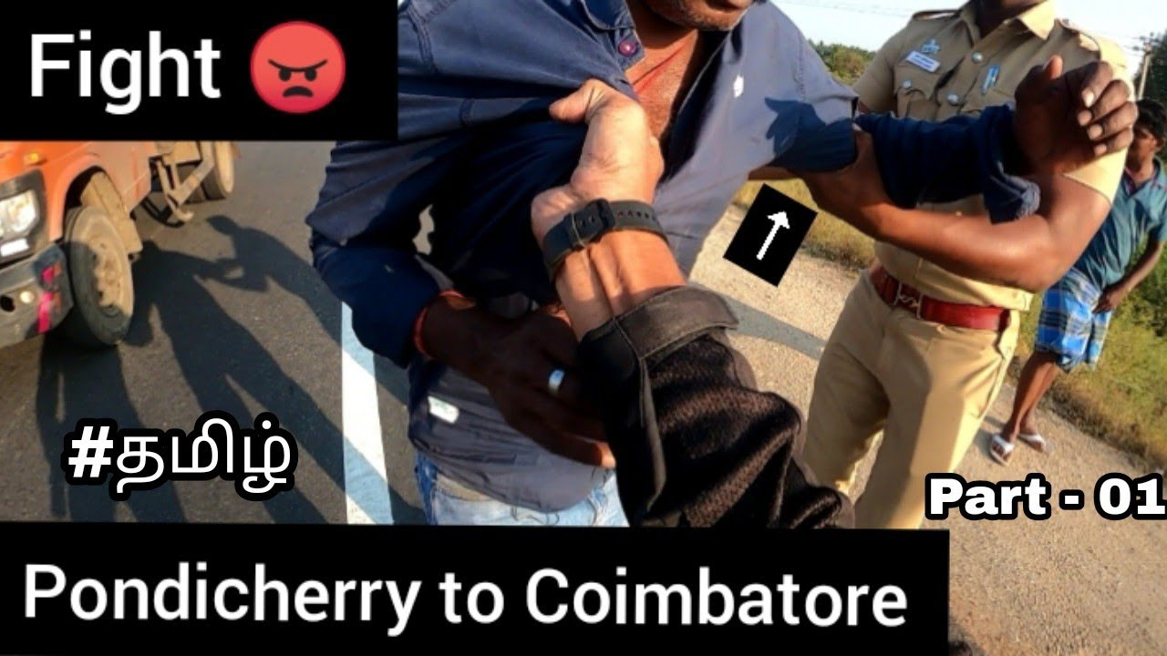Download  😠Fight  😓Accident   pondicherry to coimbatore   part - 01   Tamil   Crash   Moto vlog   TTF  