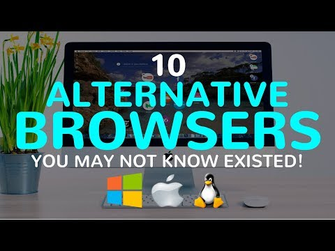10 Alternative Browsers You May Not Know Existed!