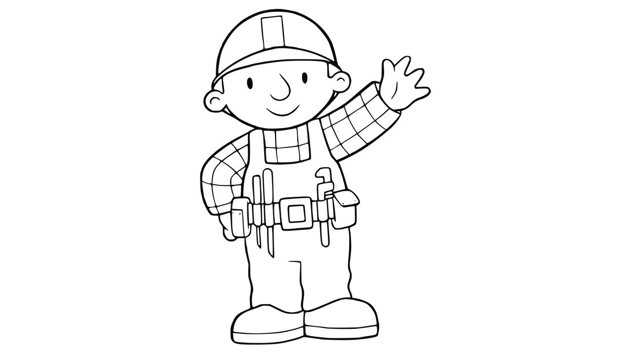 Learn to Draw The Bob The Builder | Bob The Builder ...