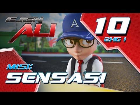 Ejen Ali (Episod 10 Bhg 1) - Misi : SENSASI