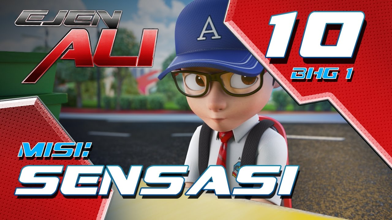 Download Ejen Ali (Episod 10 Bhg 1) - Misi : SENSASI