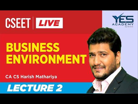cseet-business-environment-(lecture-2)-live-|-ca-cs-harish-mathariya