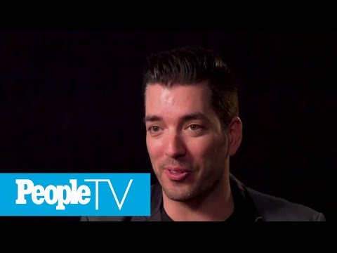 What HGTV's Jonathan Scott Really Thinks Of His Brother Drew Scott On DWTS | TIFF 2017 | PeopleTV