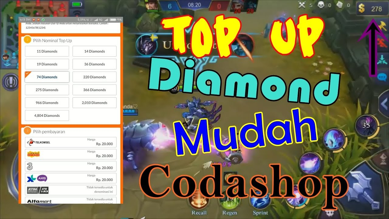 Cara Beli Diamond Mobile Legends Di Codashop Dapat Bonus Diamond