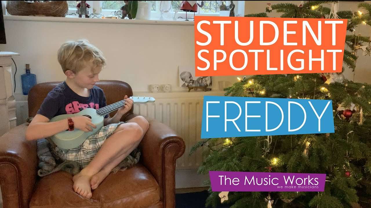 Student Spotlight - Freddy