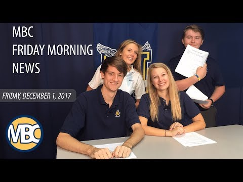 MBC Friday Morning News: Friday, December 1, 2017