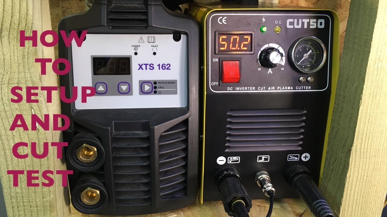 Cut50 Plasma Cutter How To Setup Testing