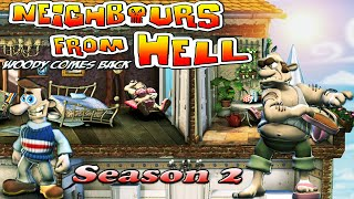 Neighbours From Hell Woody Comes Back - Season 2 [100% walkthrough]