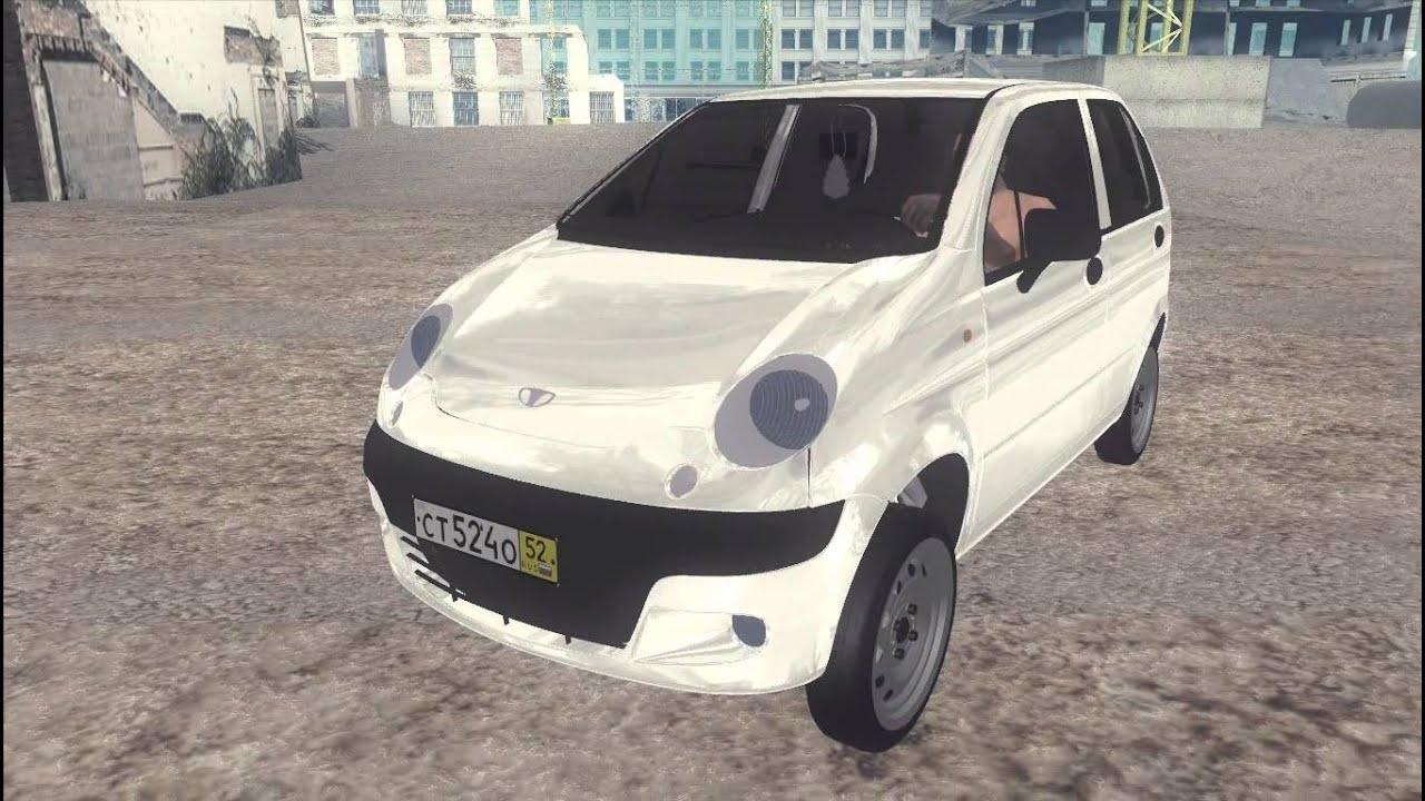 Daewoo Matiz II GTA SA - YouTube