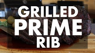 How To Grill A Prime Rib With Easy Step By Step Instructions.